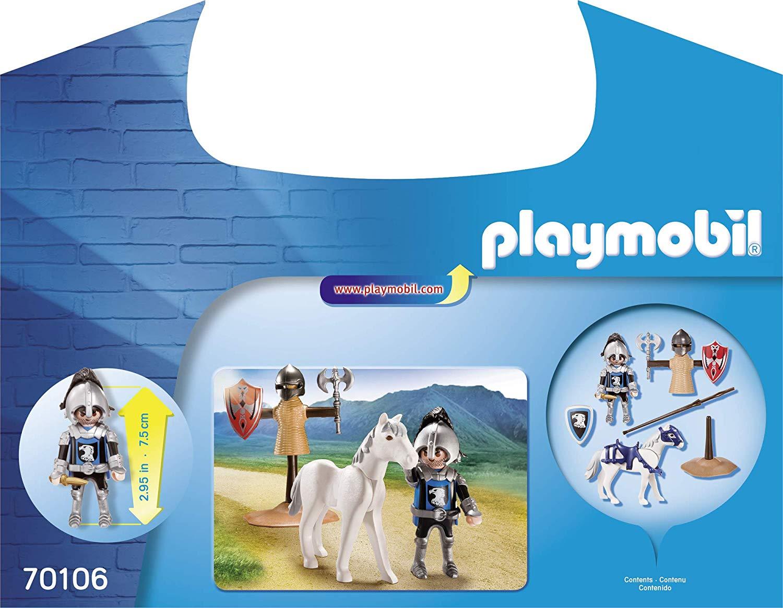 Set portabil cavaler si cal playmobil knights - 2