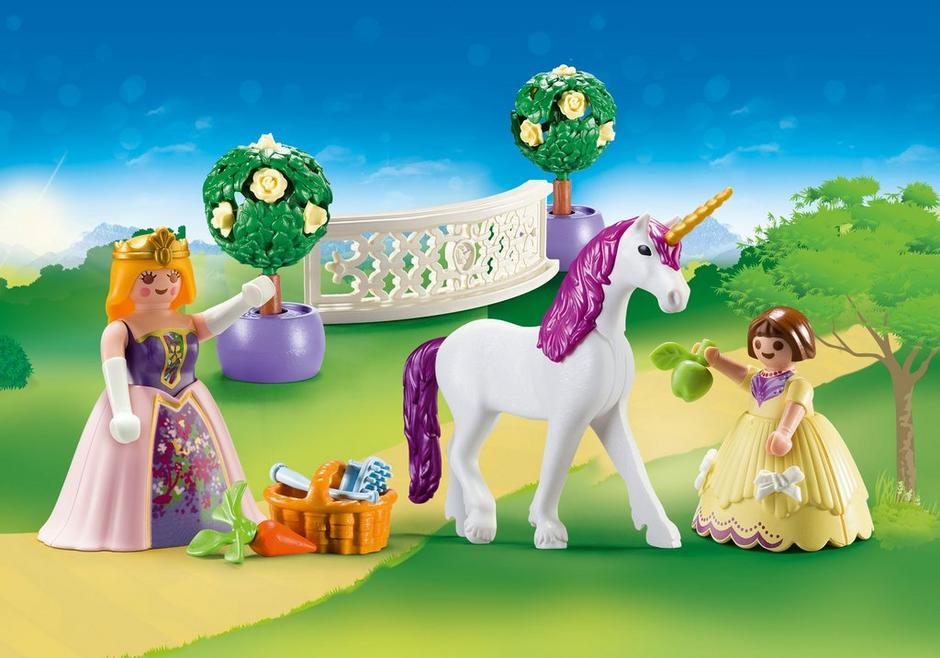 Set portabil printese si unicorn playmobil princess - 1