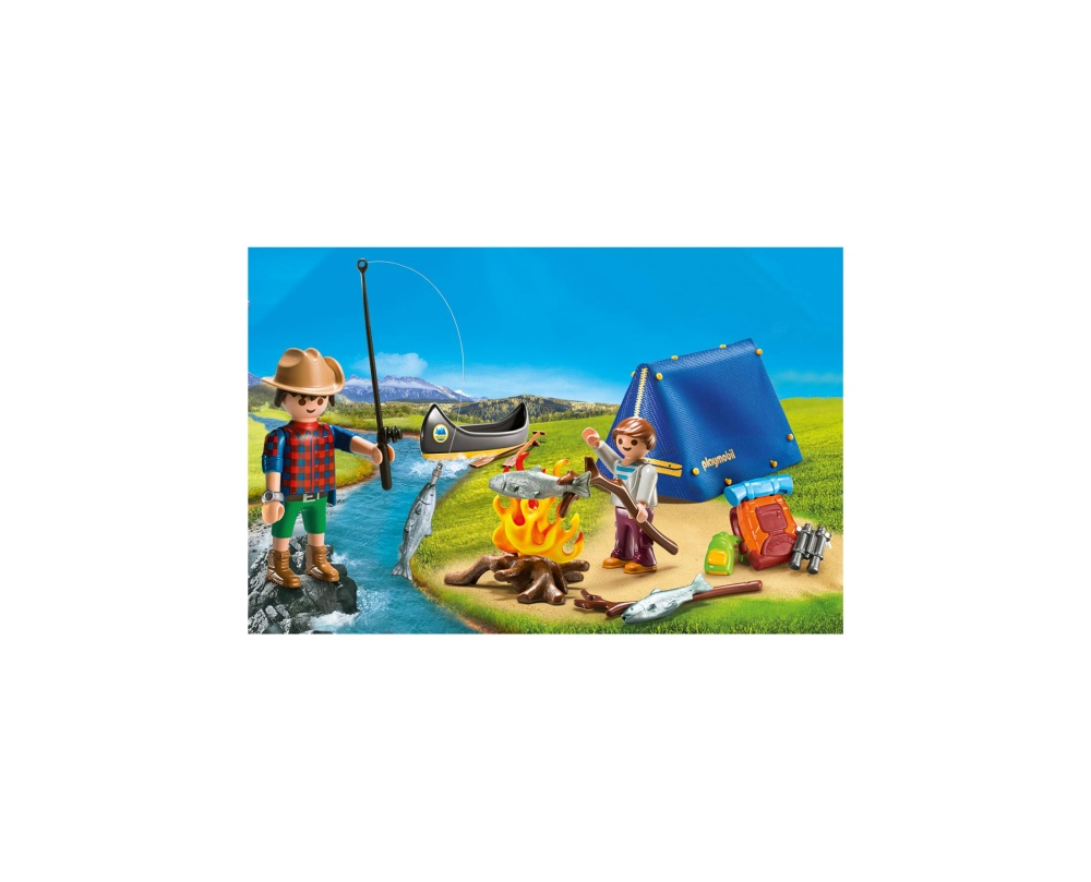 Set portabil camping playmobil family fun - 2