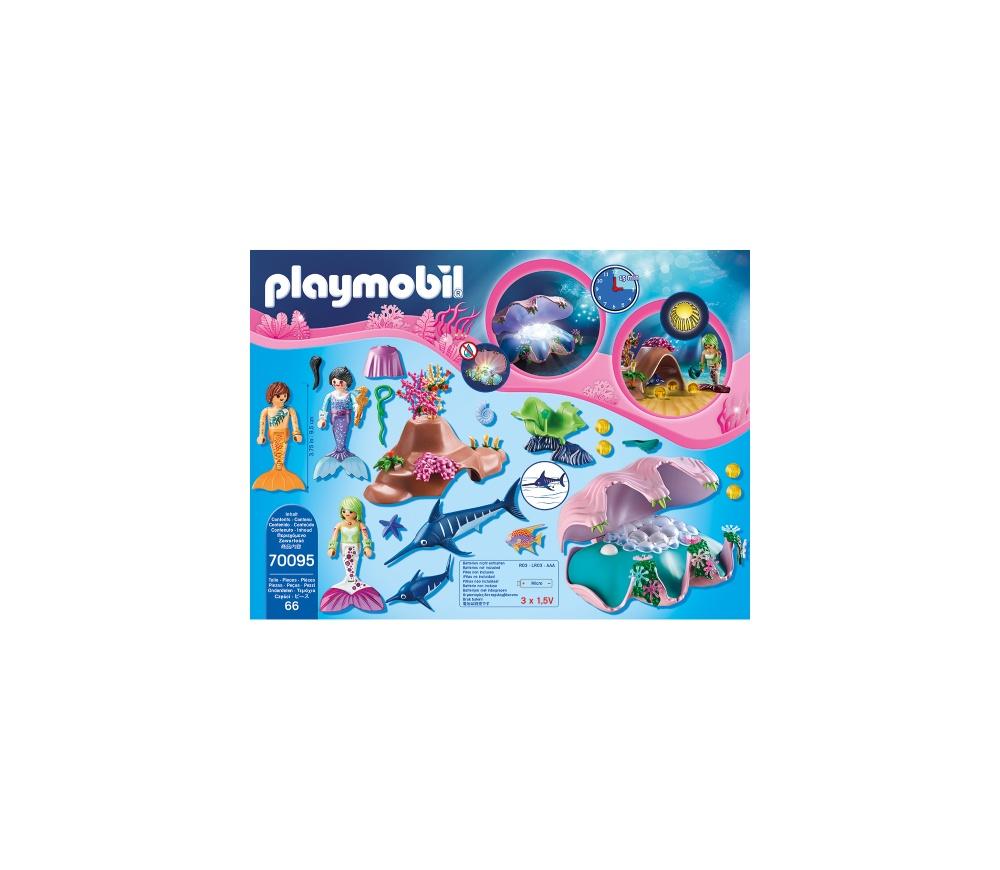 Sirene cu cochilie si perle playmobil magic - 1