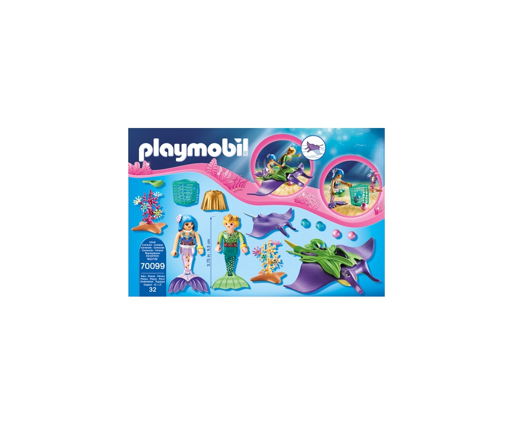 Sirene si pisica de mare playmobil magic - 1