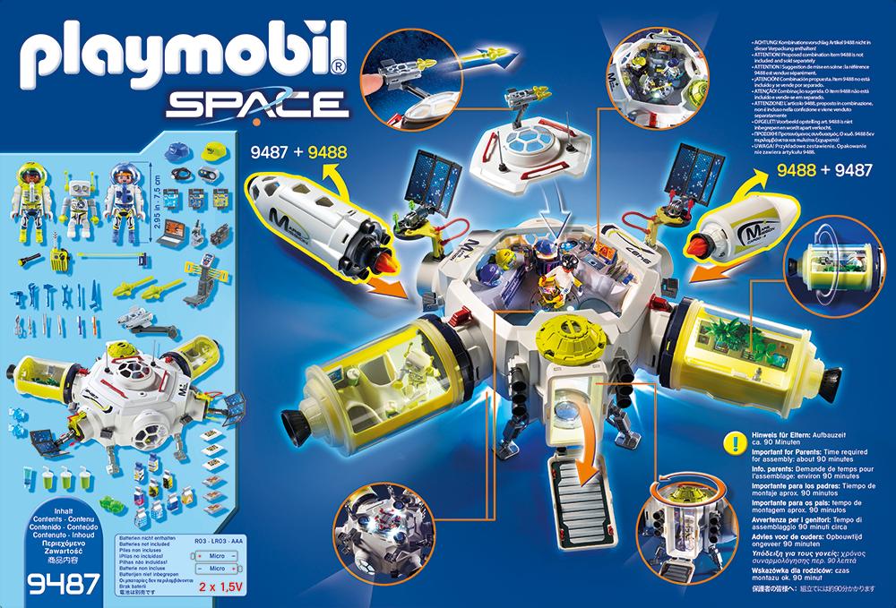 Statie spatiala playmobil space - 1