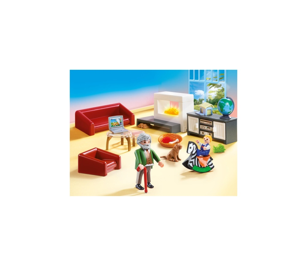 Sufrageria familiei playmobil doll house - 2