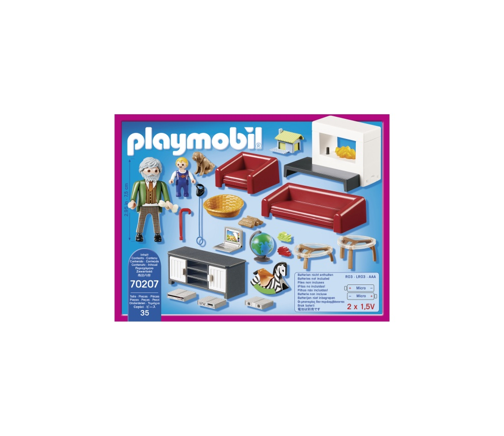 Sufrageria familiei playmobil doll house - 1