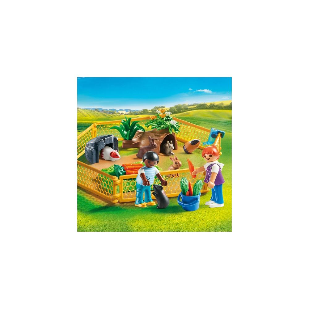 Tarc cu animalute playmobil country - 1