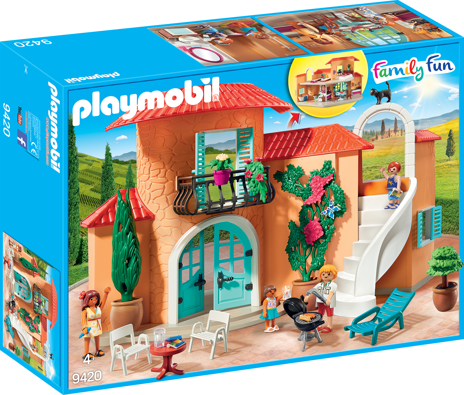Vila de vacanta playmobil family fun