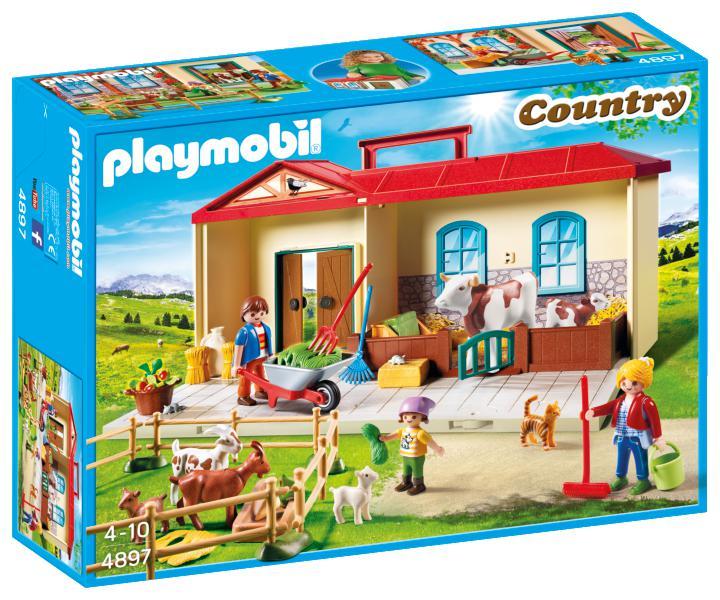 Casuta de la tara playmobil country
