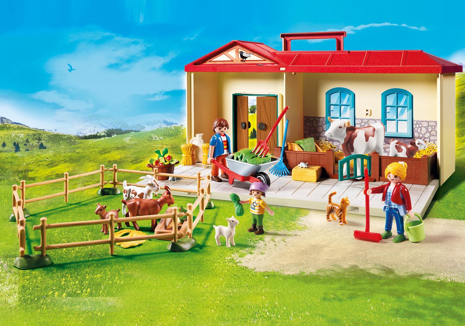 Casuta de la tara playmobil country - 1