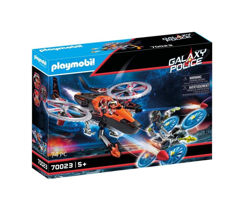 Elicopterul piratilor galactici playmobil galaxy police