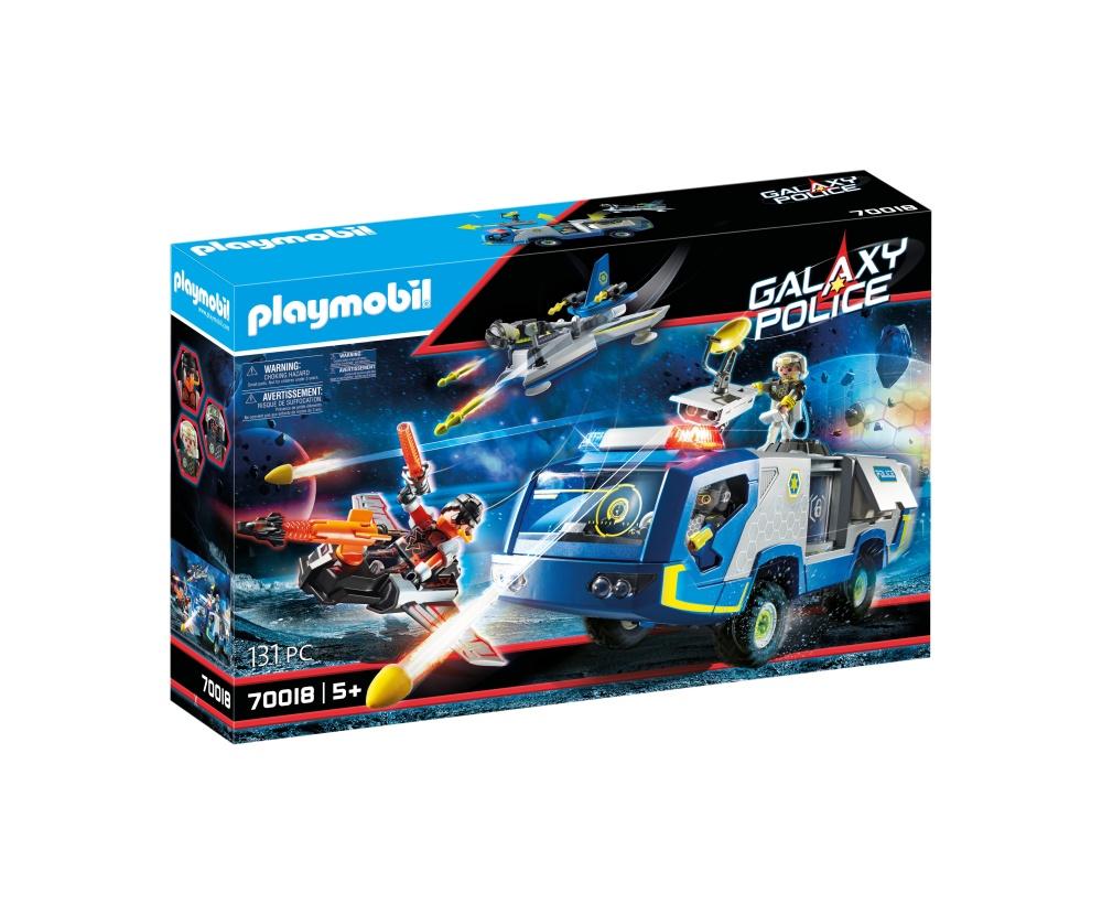 Masina de teren a politiei galactice playmobil galaxy police