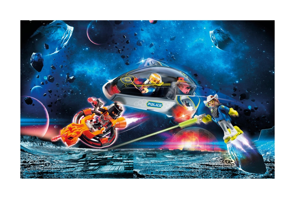 Planorul politiei galactice playmobil galaxy police - 1