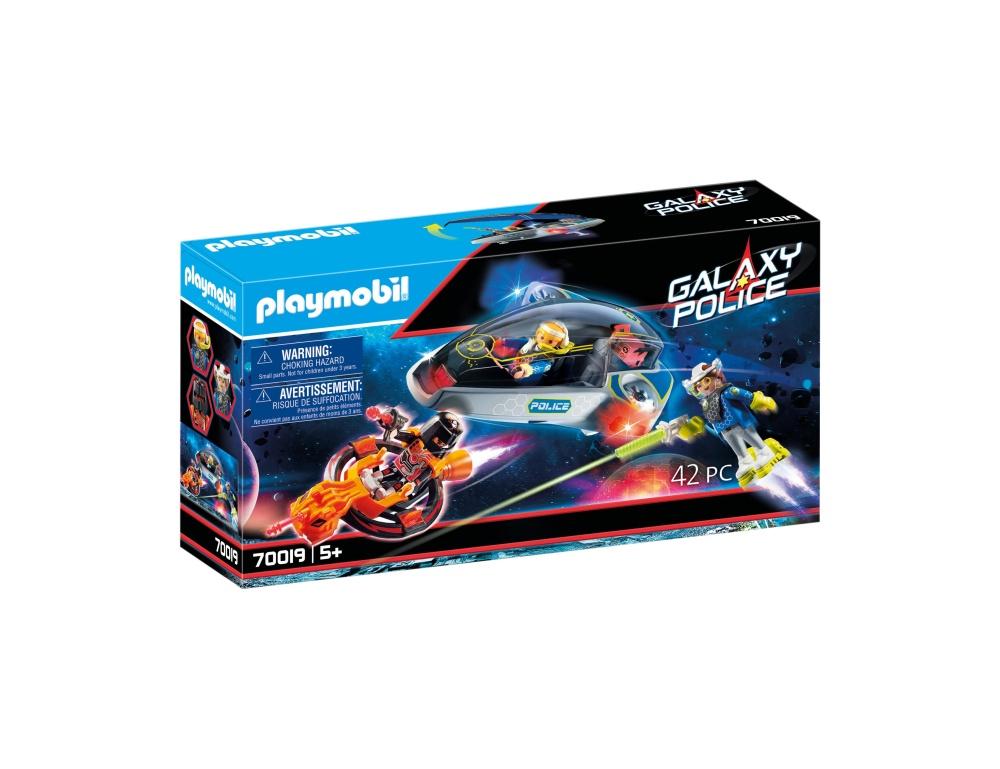 Planorul politiei galactice playmobil galaxy police
