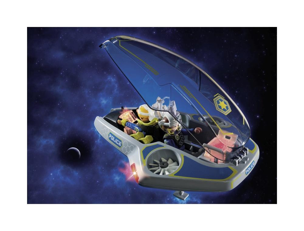 Planorul politiei galactice playmobil galaxy police - 2