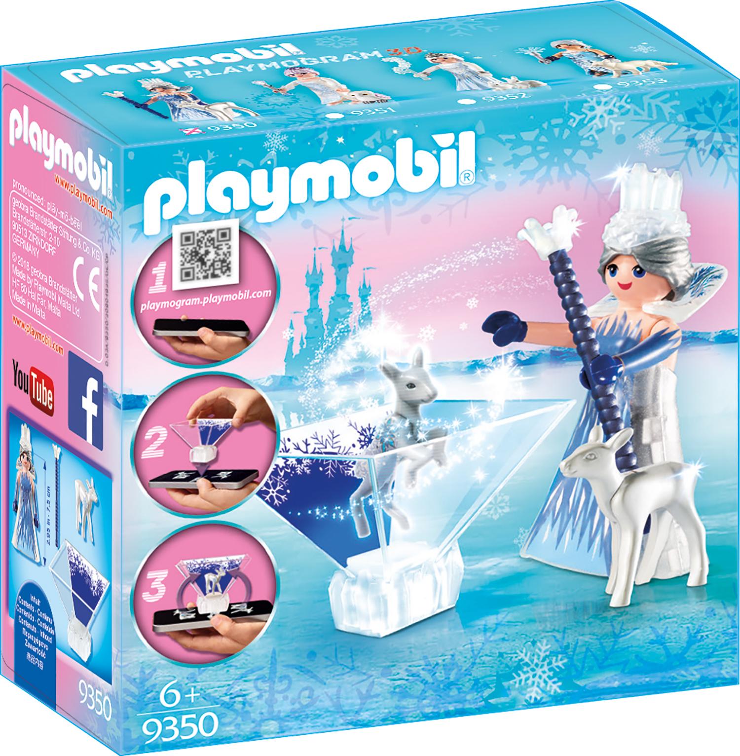 Printesa cristalului de gheata playmobil magic