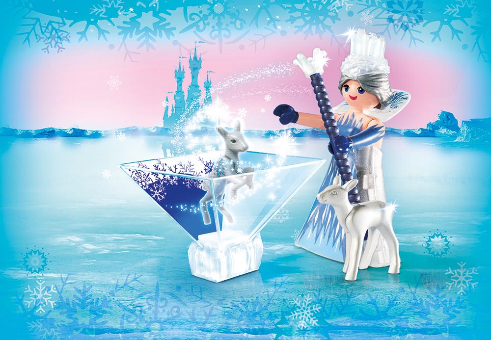 Printesa cristalului de gheata playmobil magic - 1