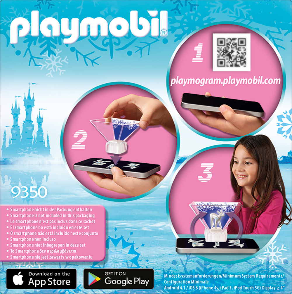 Printesa cristalului de gheata playmobil magic - 2