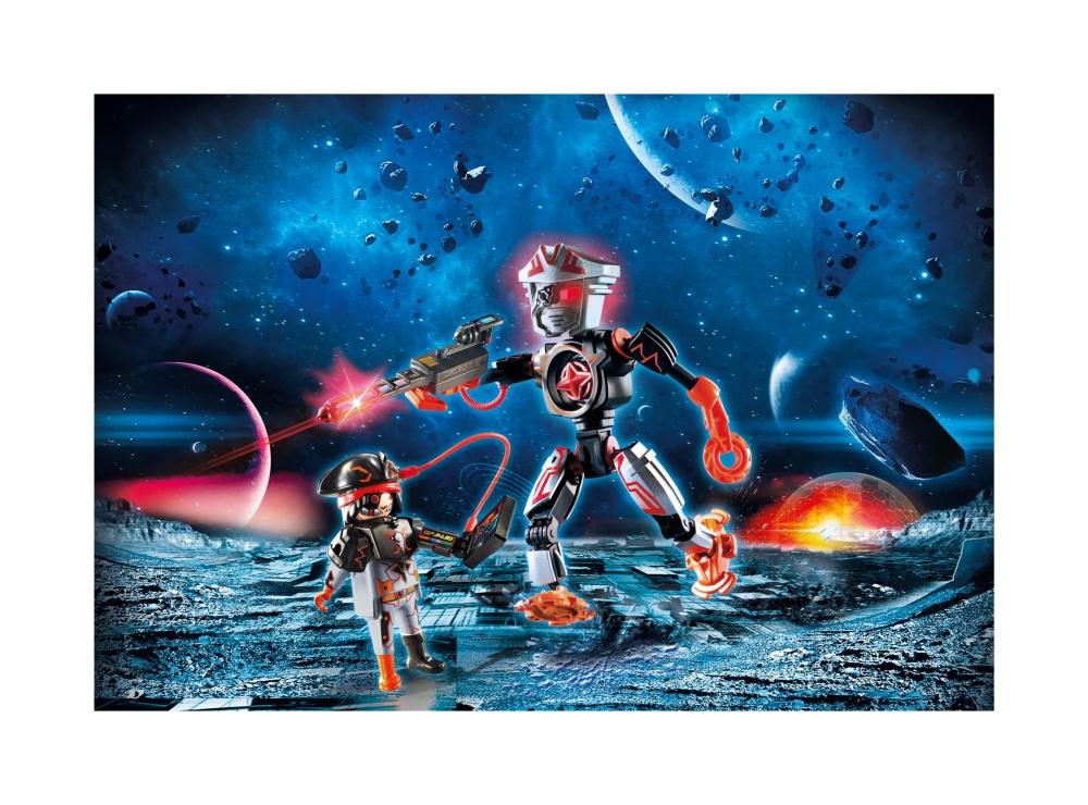 Robotul piratilor galactici playmobil galaxy police - 1