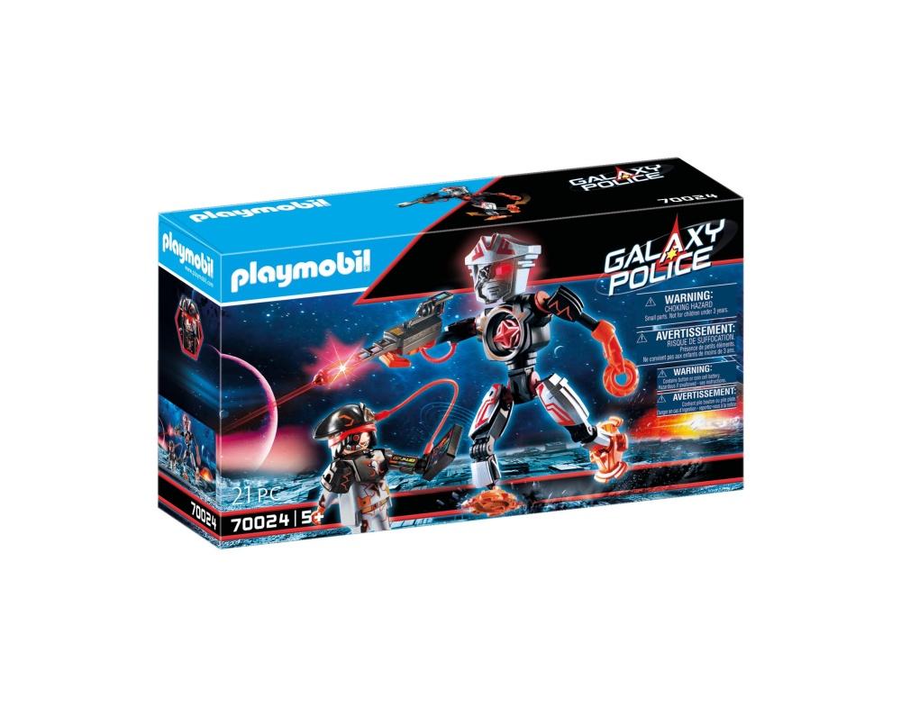 Robotul piratilor galactici playmobil galaxy police