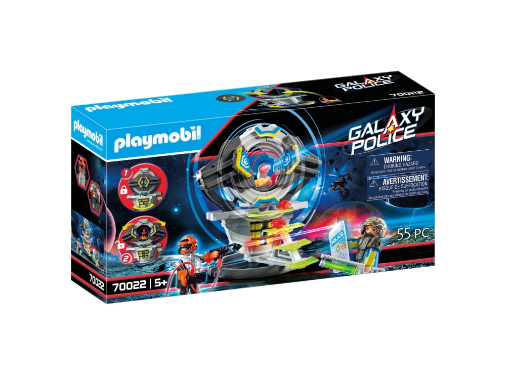 Seif cu cod secret playmobil galaxy police