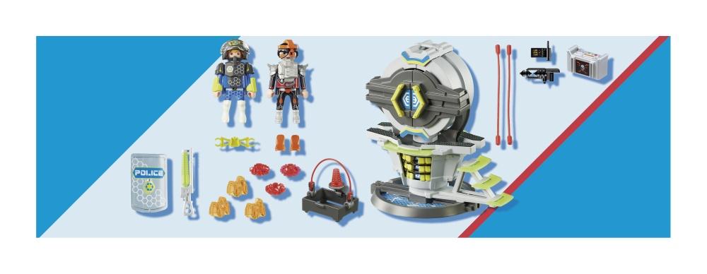 Seif cu cod secret playmobil galaxy police - 1