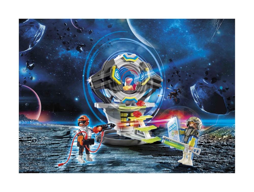Seif cu cod secret playmobil galaxy police - 2