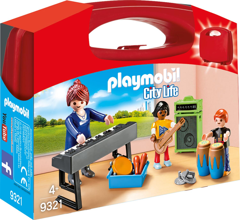 Set portabil curs de muzica playmobil city life