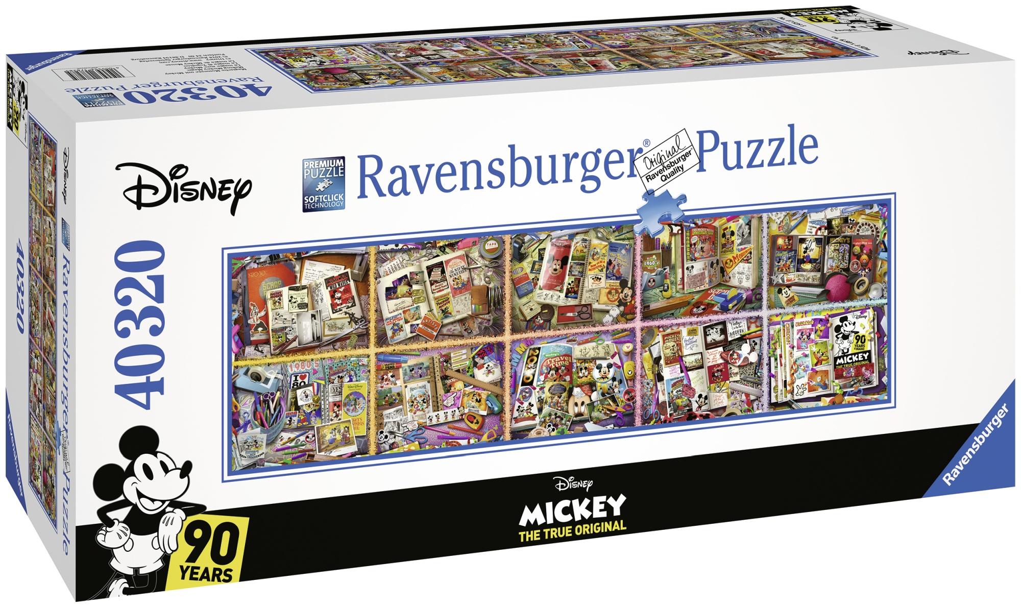 Puzzle adulti aniversar disney 40320 piese ravensburger - 2