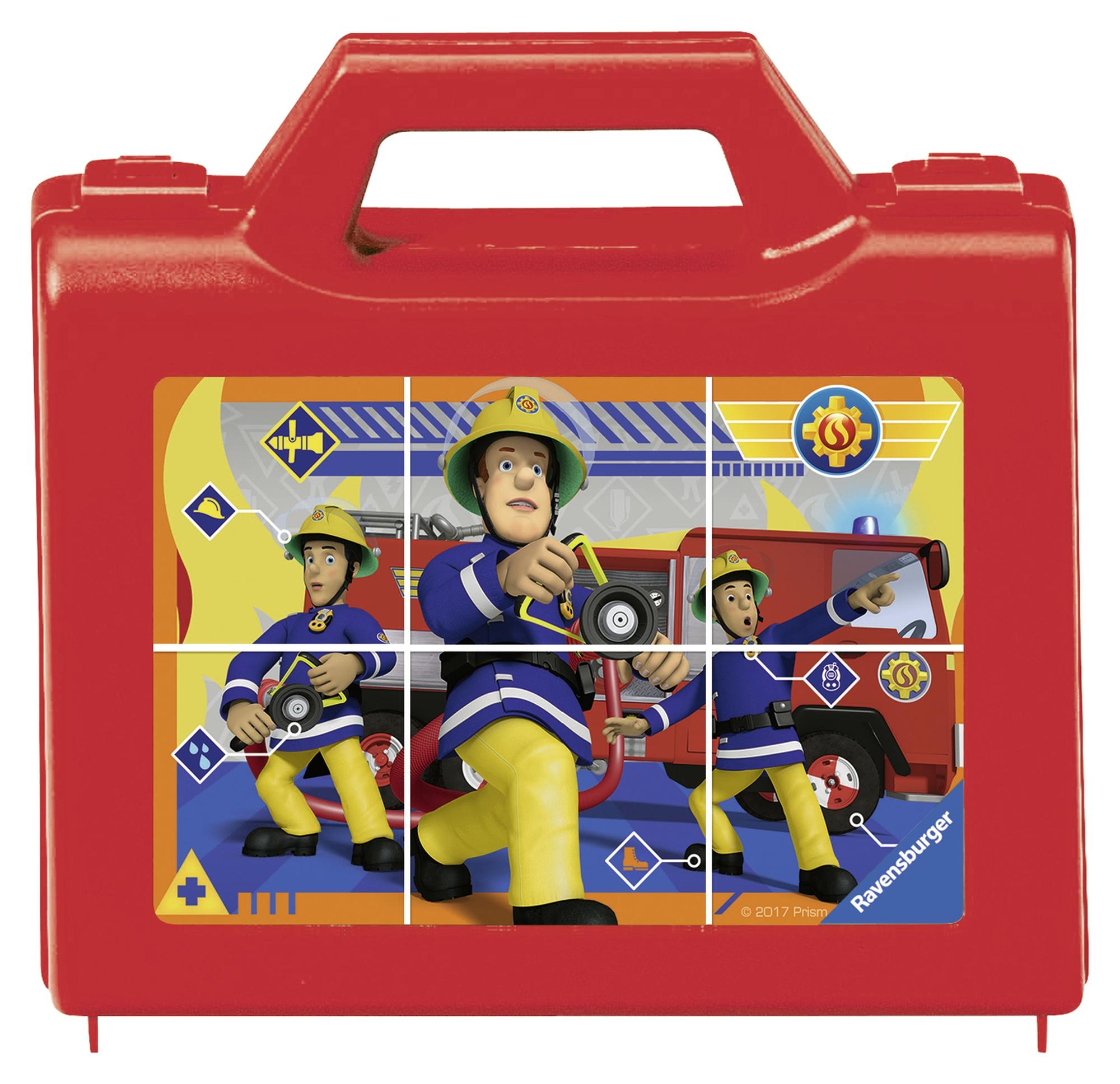 Puzzle in cutie pompier 6 piese ravensburger