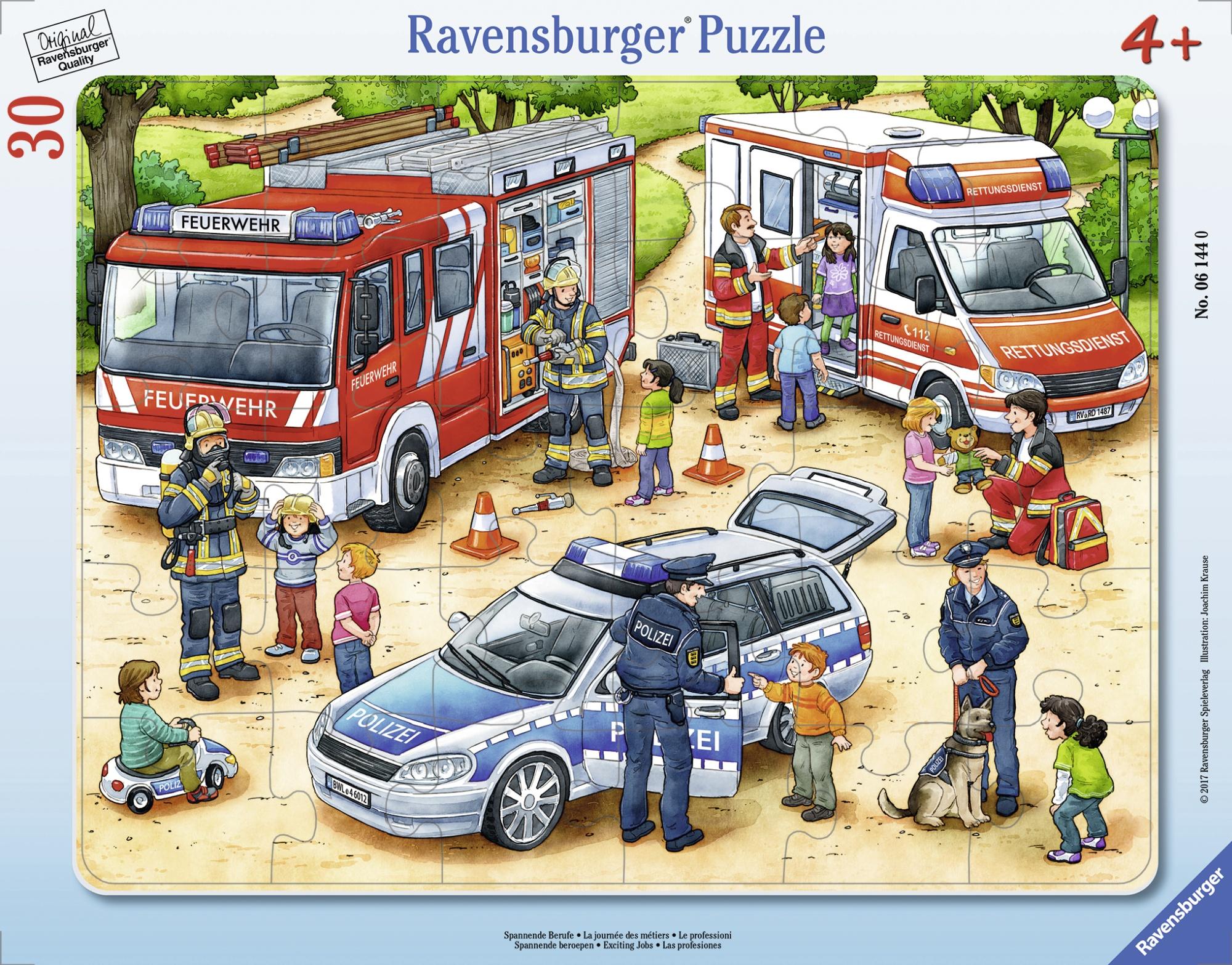 Puzzle tip rama meserii 30 piese ravensburger