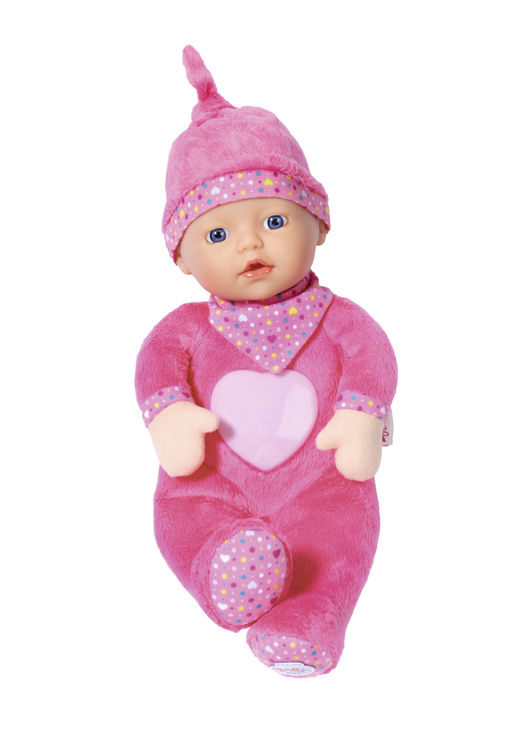 Bebelus cu lumina si sunete 30 cm baby born imagine