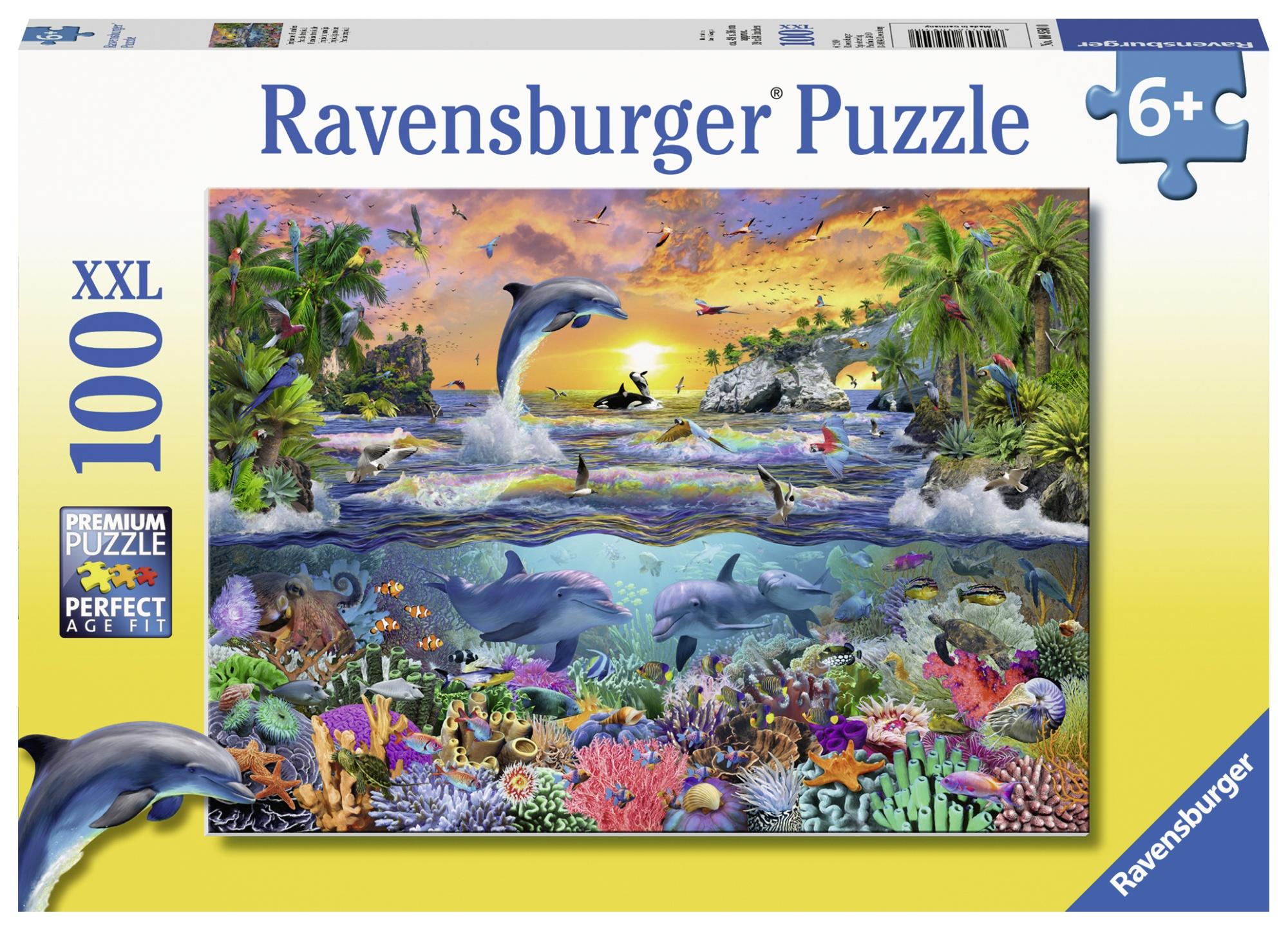 Puzzle paradis tropical 100 piese ravensburger