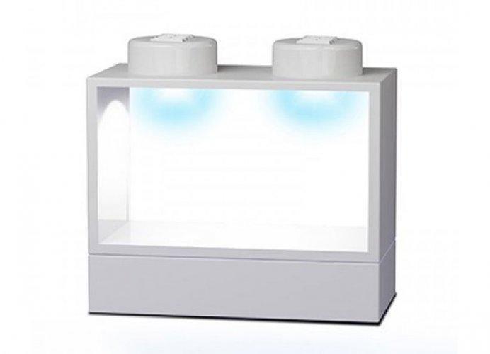 Cutie depozitare alba iluminata lego dimensions imagine