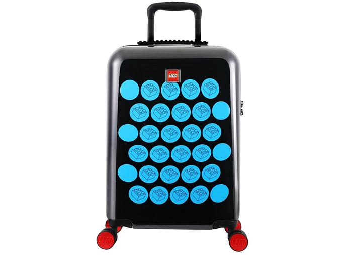 Troller lego colorbox negru si albastru