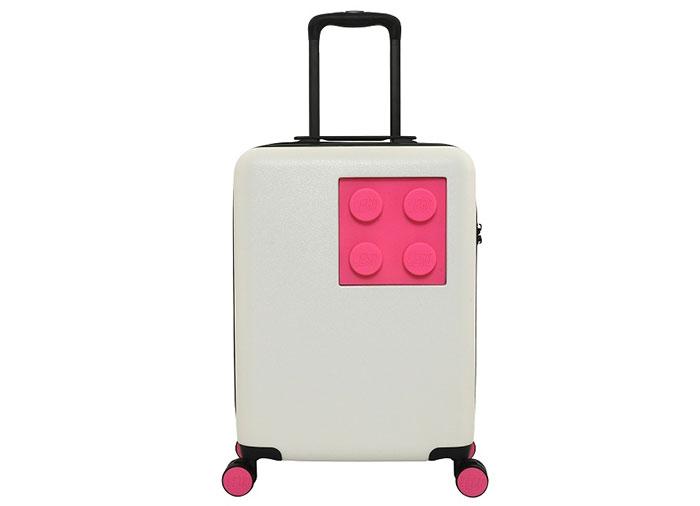 Troller lego urban alb si roz