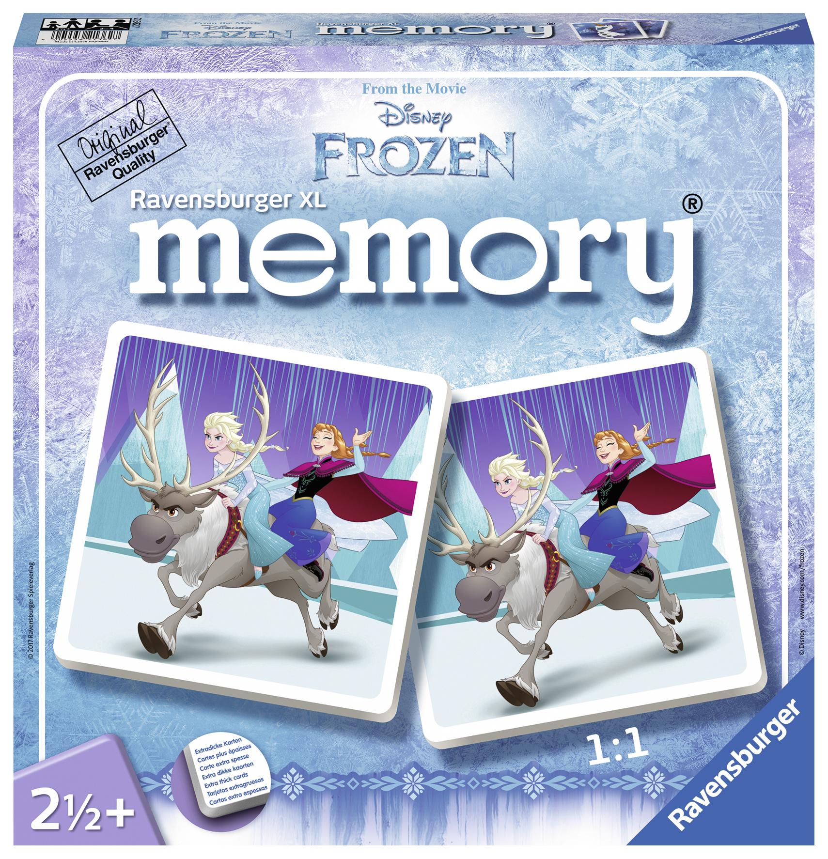 Joc de memorie frozen xl ravensburger imagine
