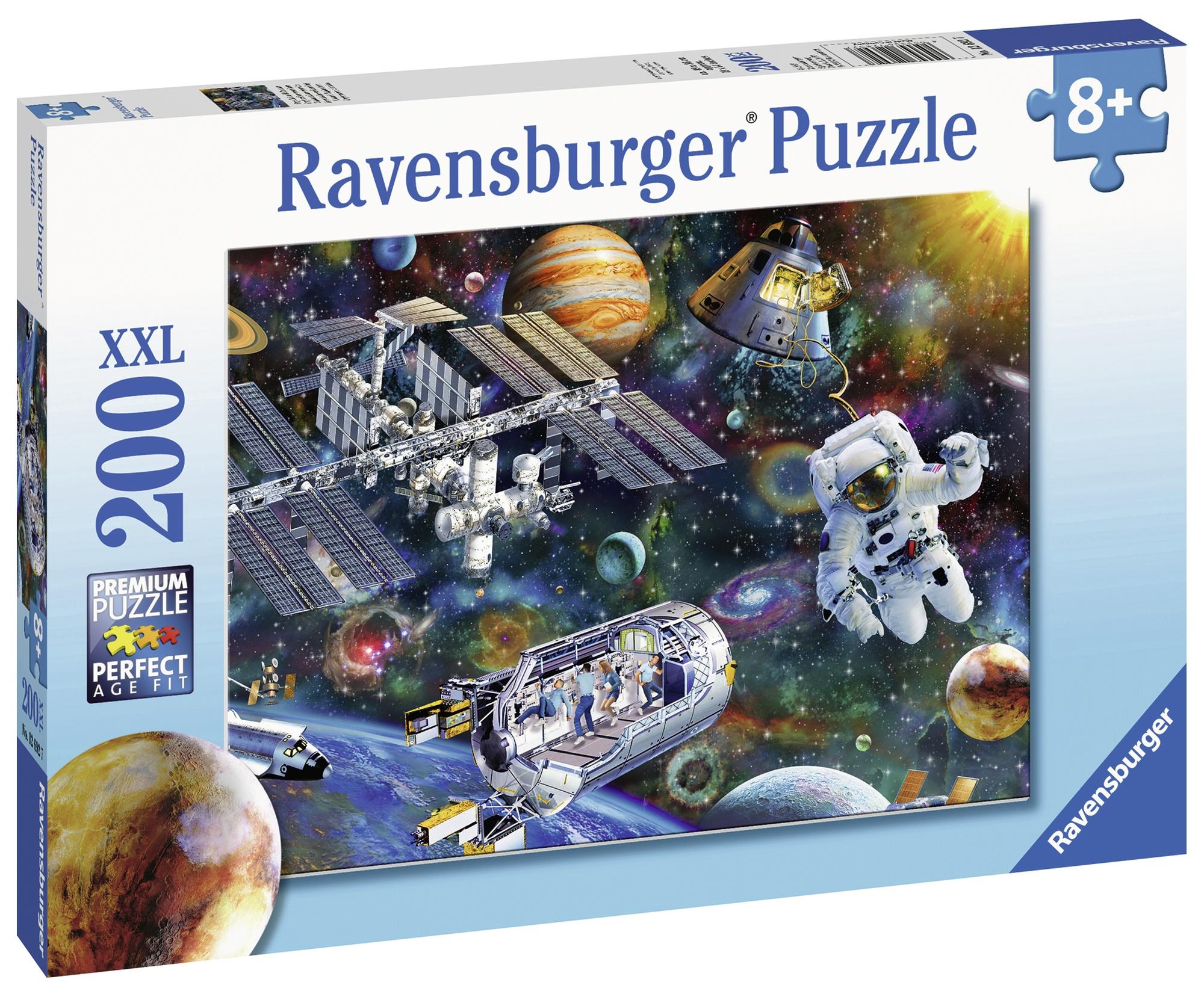 Puzzle statie spatiala 200 piese ravensburger imagine