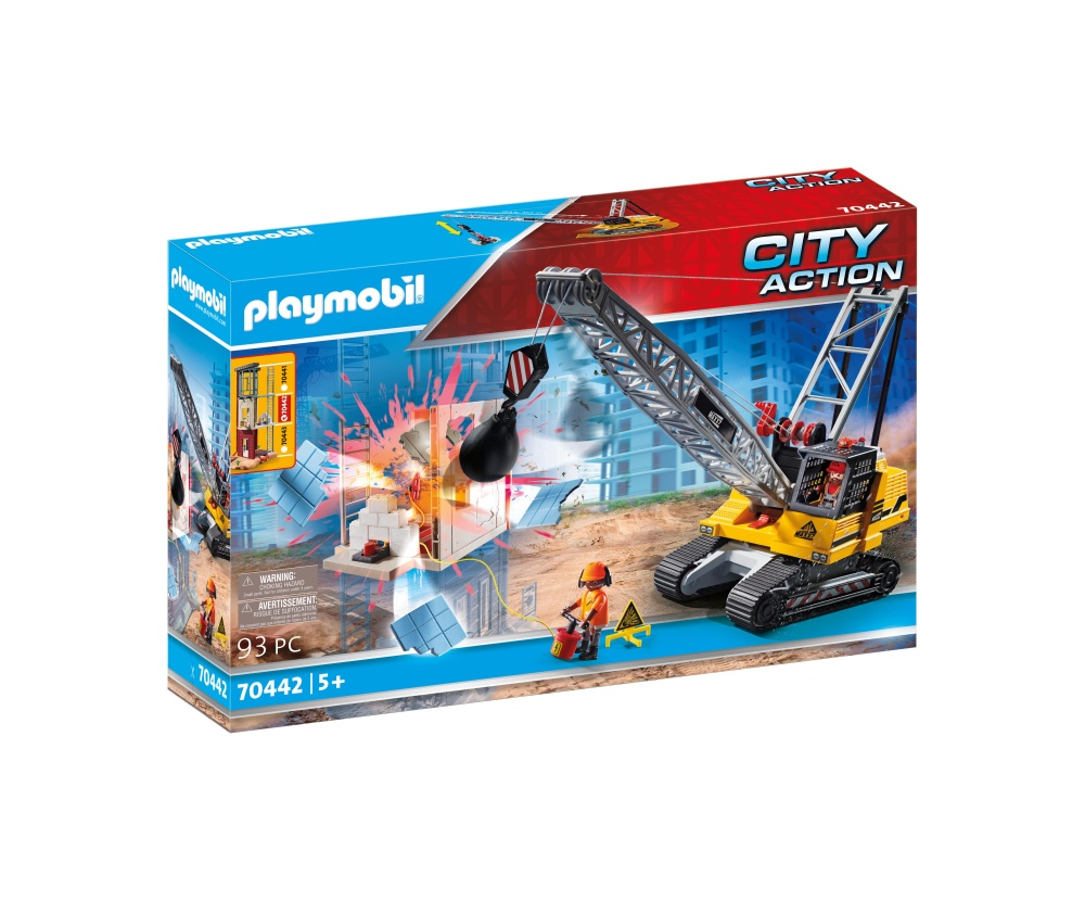 Excavator de demolare playmobil city action