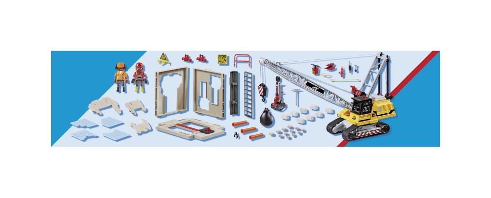 Excavator de demolare playmobil city action - 2