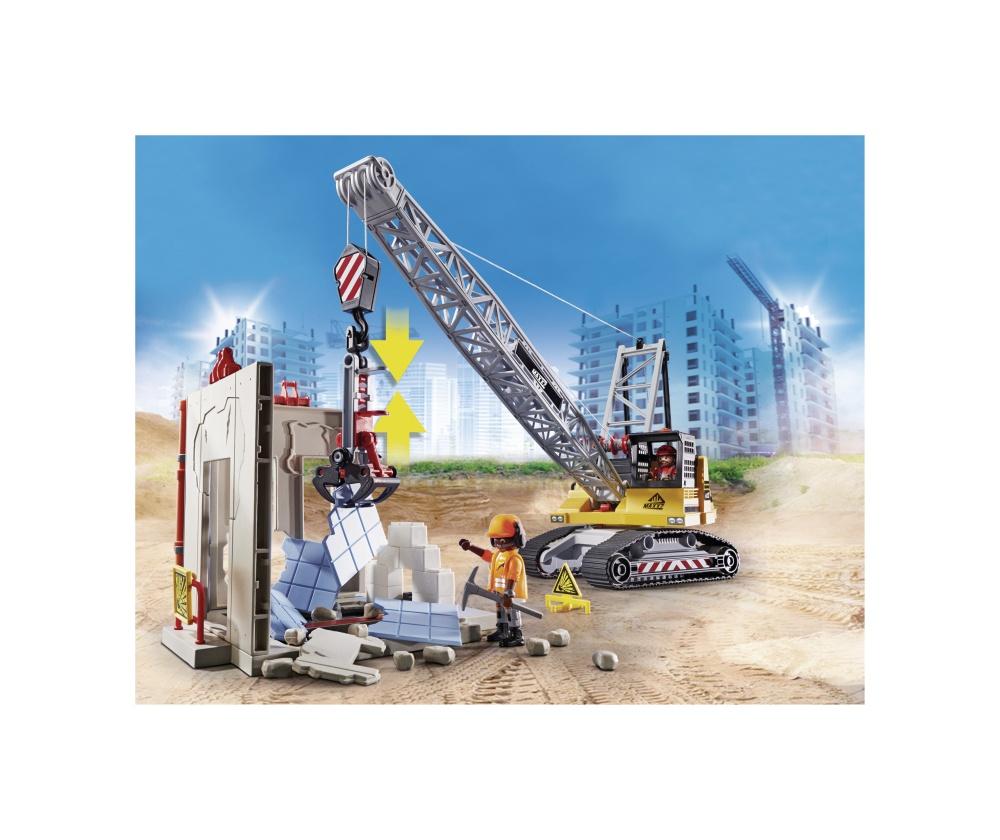 Excavator de demolare playmobil city action - 1