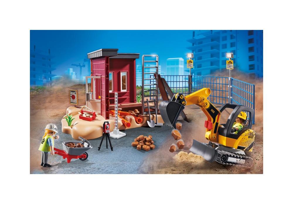 Excavator mic playmobil city action - 2