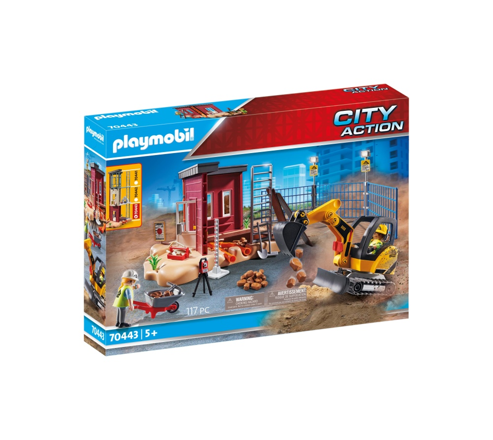 Excavator mic playmobil city action