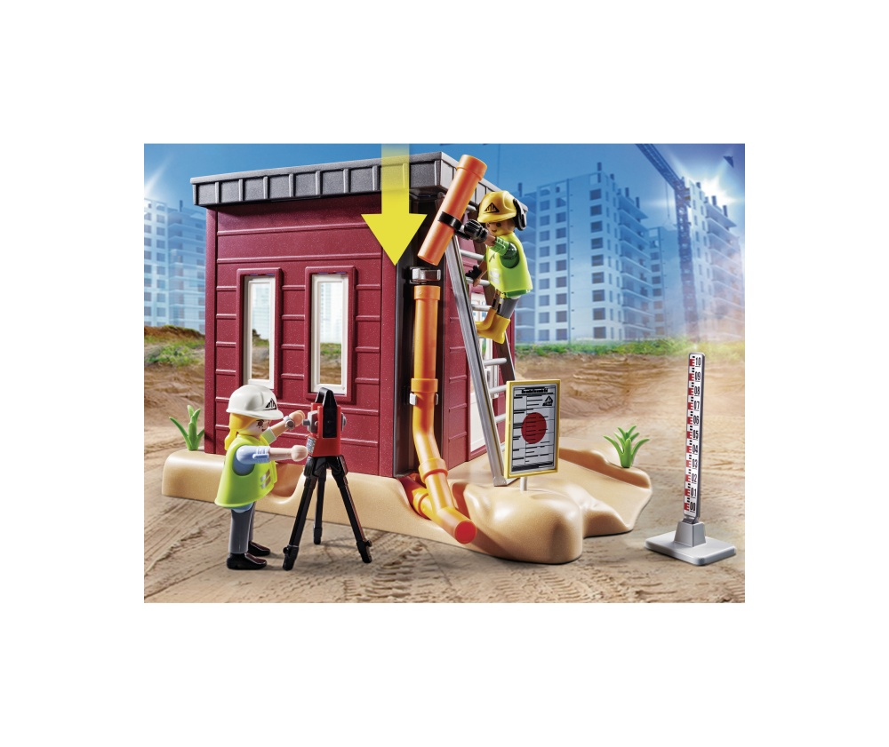 Excavator mic playmobil city action - 1
