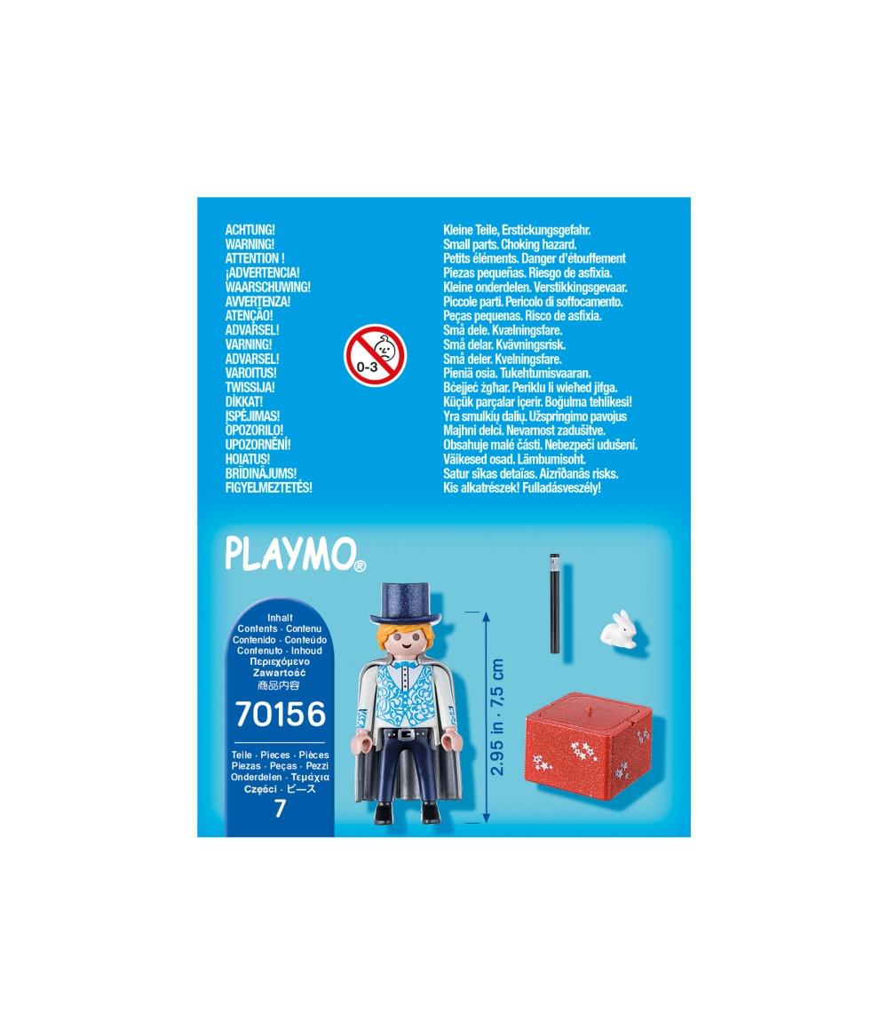 Figurina magician playmobil - 1