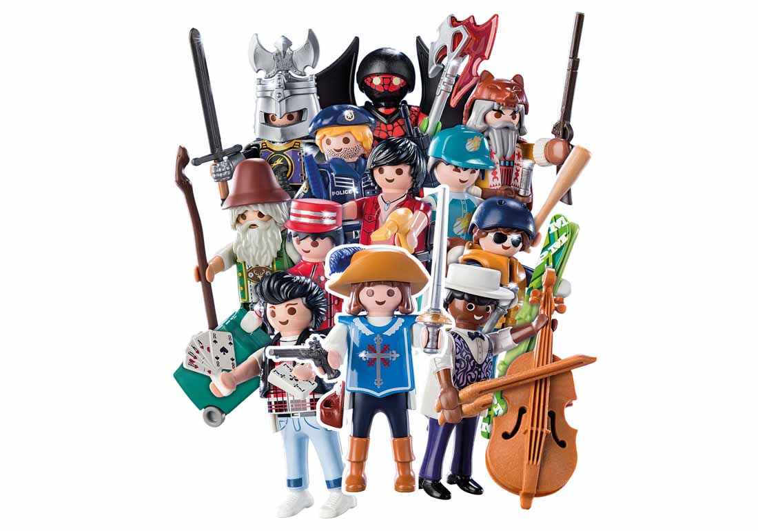 Figurine baieti seria 16 playmobil - 1