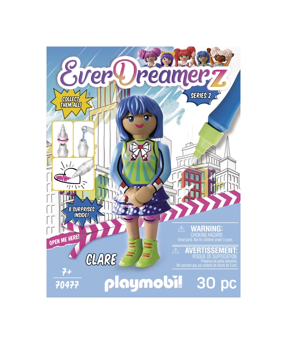 Lumea comica clare playmobil everdreamerz - 2