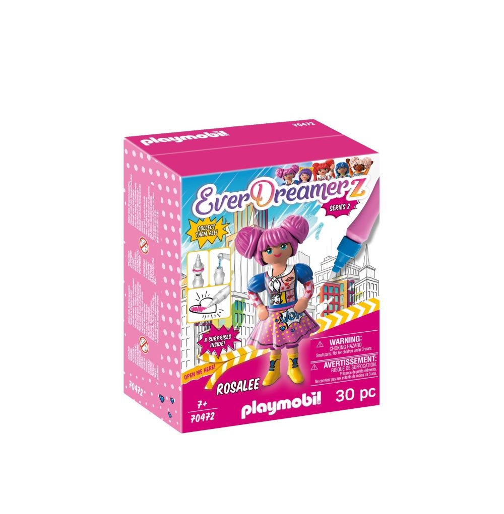 Lumea comica rosalee playmobil everdreamerz