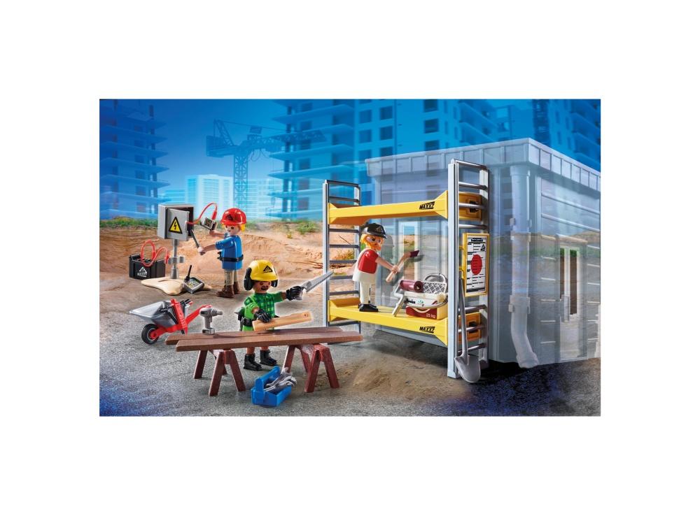 Muncitori cu schela playmobil city action - 1