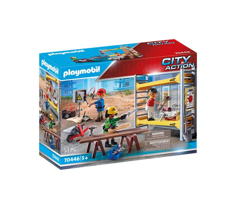 Muncitori cu schela playmobil city action