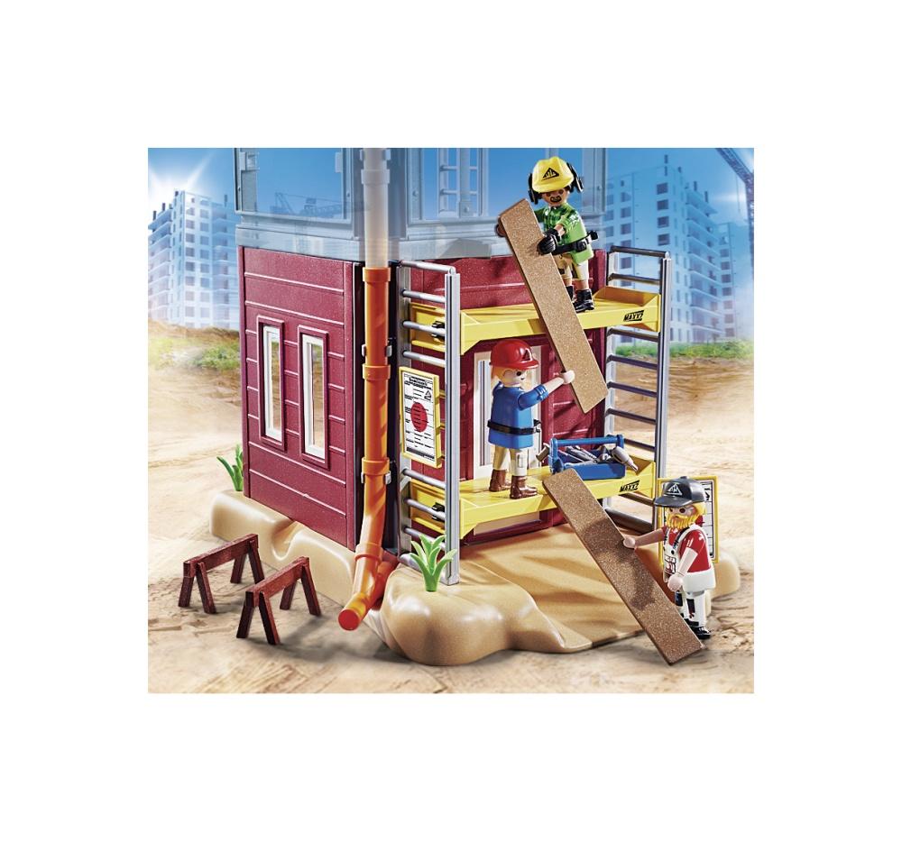 Muncitori cu schela playmobil city action - 2