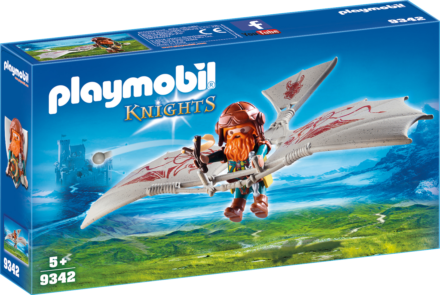 Piticul zburator playmobil knights